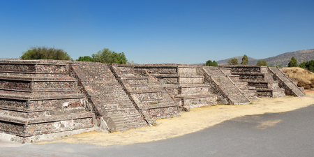 Mexico, Teotihuacan Aztec ruins near Mexico city Stock Photo