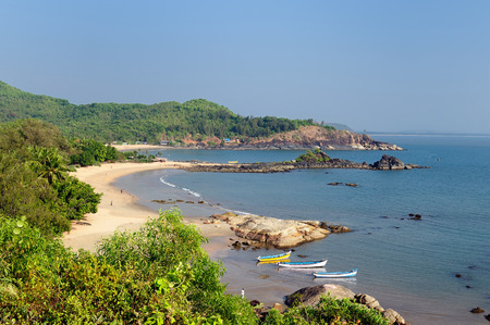 India, The most beautifull beach in India near Gokarna city. Karnataka state