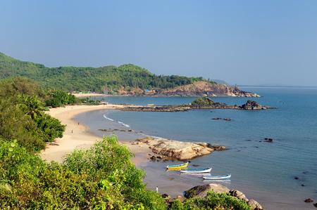 India, The most beautifull beach in India near Gokarna city. Karnataka state