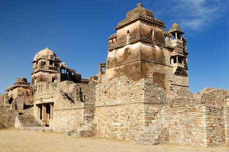 jagmandir: Beautifoul Fort Chittor is the largest fort in India and Asia in Chittorgarh, India. Ruins of Rana Kumbha Palace
