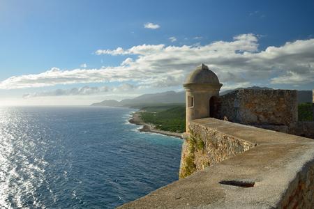 Cuba, Castle San Pedro de la Roca del Morro, Santiago de Cuba Stock Photo - 92785572