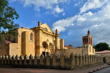 Cathedral of Santa Maria la Menor the oldest Cathedral in the Americas in Santo Domingo, Dominikan Republic