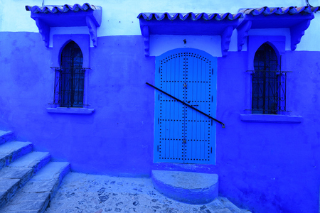 Blue old city (medina) of Chefchaouen city in Morocco, Africa