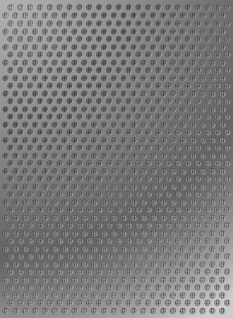 abstract metal background texture with dots Vector