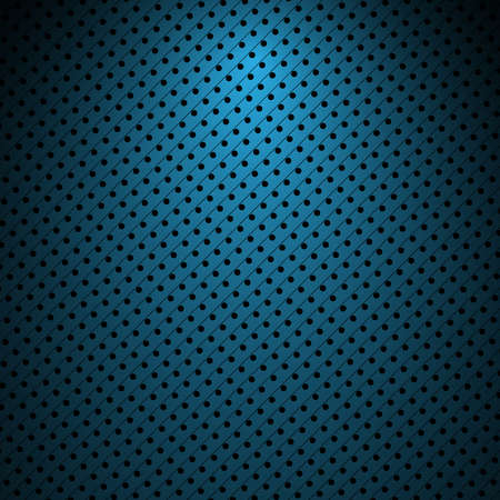 abstract dark blue background texture with dots Vector