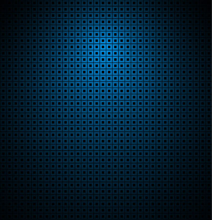 repetition row: blue background texture with light effect Illustration