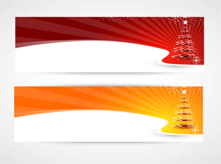 christmas background banners Vector