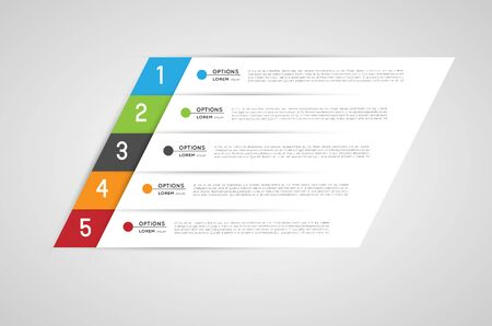 infographic bannersdesign elements Vector