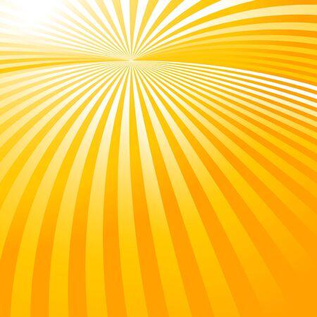 fond abstrait orange: abstrait orange avec les rayons du soleil