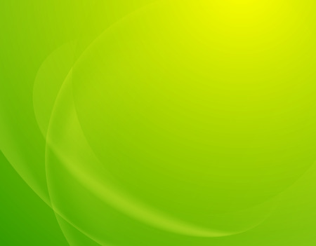 groene blur achtergrond, lente en zomer sjabloon Stock Illustratie