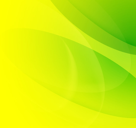 green banner: green abstract blur background, spring and summer template