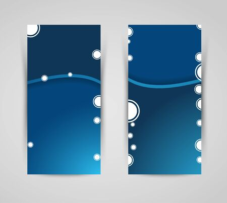 cicles: abstract vector banners with cicles, shadows, design element