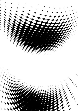 effect: abstract background with halftone effect Illustration