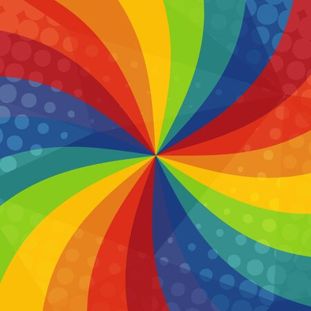spectral colour: Abstract rainbow ray texture festive background