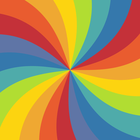 Abstract rainbow ray texture festive background