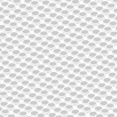 isometric background texture with cylinders, circles