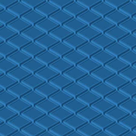 blue isometric cubes background texture Ilustrace