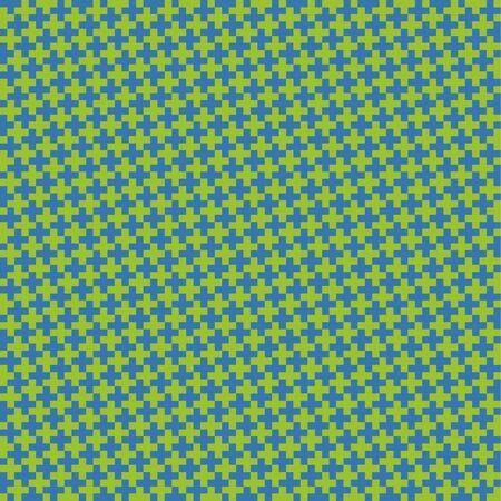 Seamless pattern with crosses. Vector abstract background Illusztráció