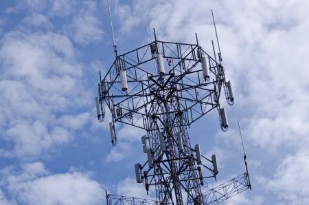 Communications Tower Reklamní fotografie - 11423105
