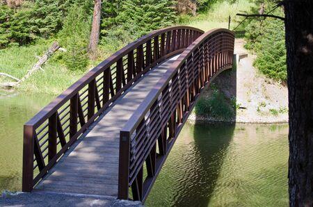 foot bridge: Foot Bridge Across The Water