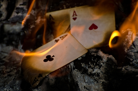 Burning Aces photo