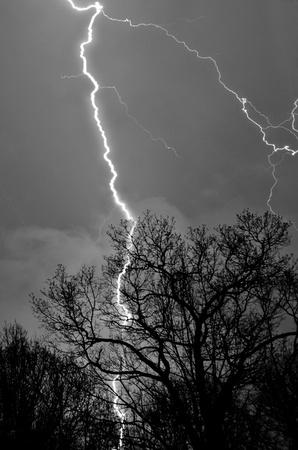 Lightening Strike Reklamní fotografie