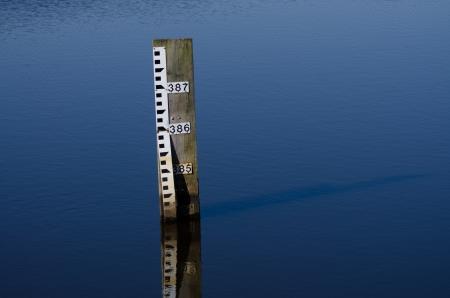 Water Depth Gauge Stock Photo - 19882527