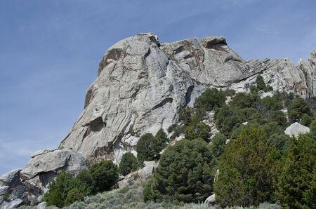 castle rock: Castle Rock Por encima de los �rboles