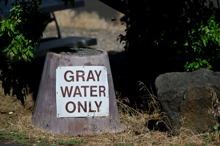 campground: Gray Water Disposal Station at Summer Campground
