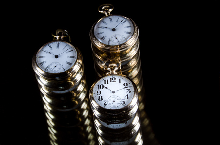 Infinity and the Never Ending Progression of Time Stock Photo