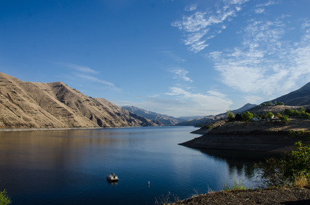 Early Dawn Breaking in the Heart of Hells Canyon