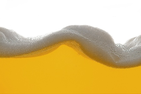 beer foam wave photo