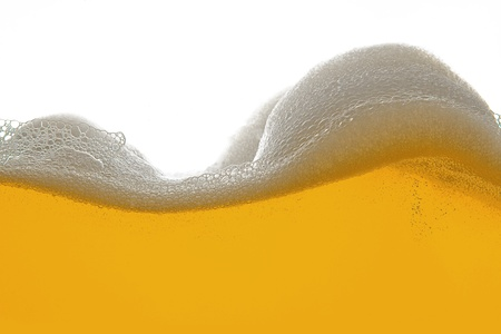 beer foam wave Stock Photo - 11033312