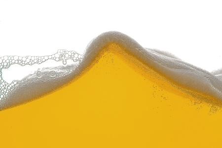 beer foam wave Stock Photo - 11033309