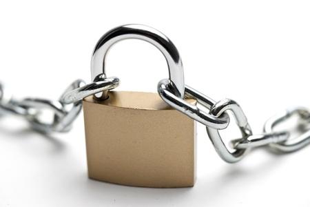 ssl: chain with padlock