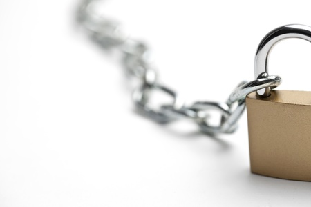 chain with padlock photo