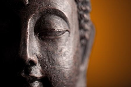 feng shui: buddha head