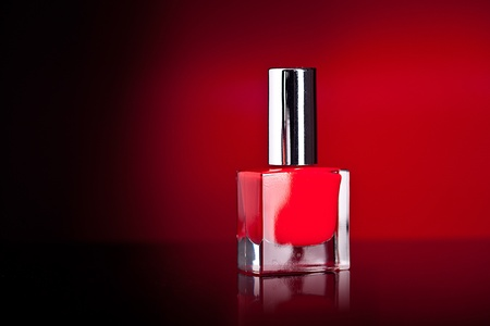 nail polish bottle photo