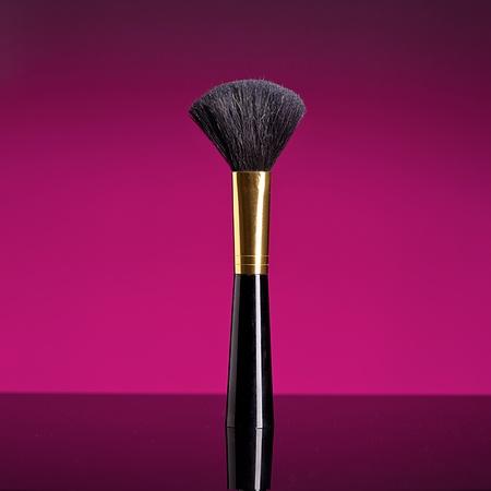 maquillaje cepillo Foto de archivo
