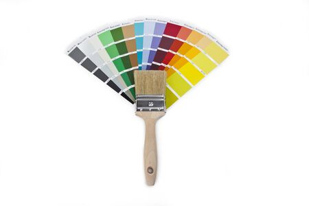 ral: paint brush with farbf�cher