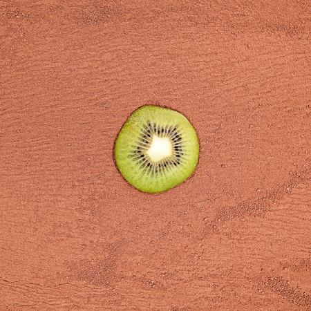 mit: kakaopulver mit kiwi