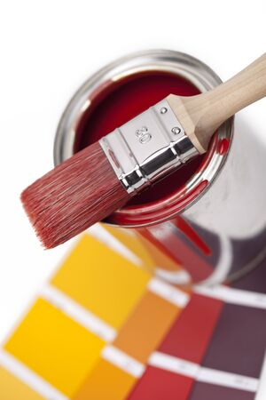ral: color with a brush and bucket farbf�cher