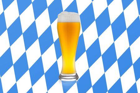 cosiness: German wheat beer Stock Photo