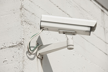 Video camera on a wall Stock Photo - 11337575