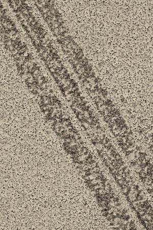 tire marks: Tire marks on asphalt