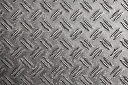 Aluminum checker plate pattern Stock Photo - 11337396