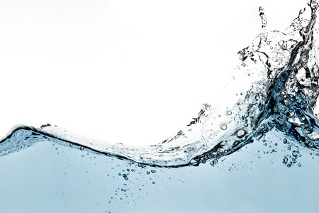 Blue water wave Stock Photo - 11634815