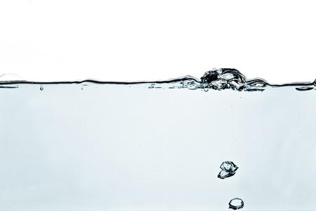 Blue water-blown
