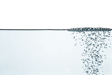 wetness: Blue water-blown