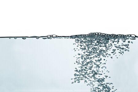 spring tide: Blue water-blown